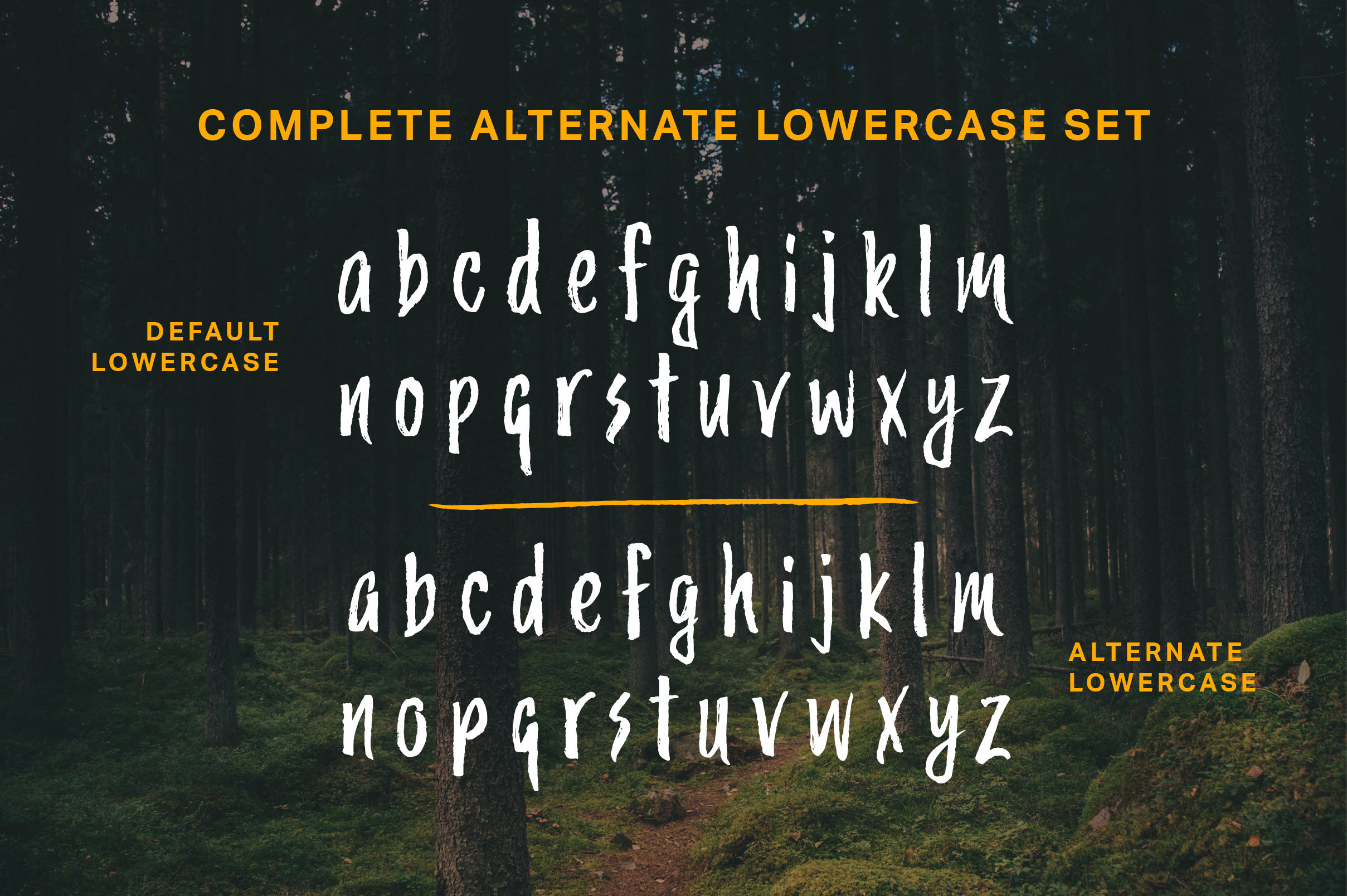Trailmade Font Family example image 6
