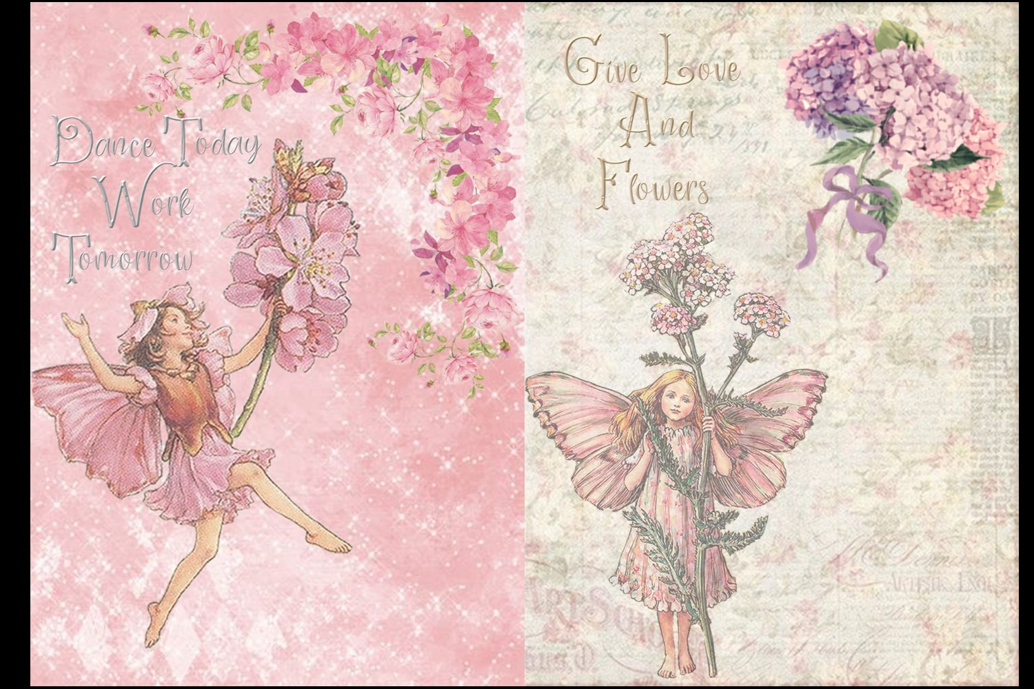Fairy Mega Bundle. 24 backing papers 80 piece total CU example image 8