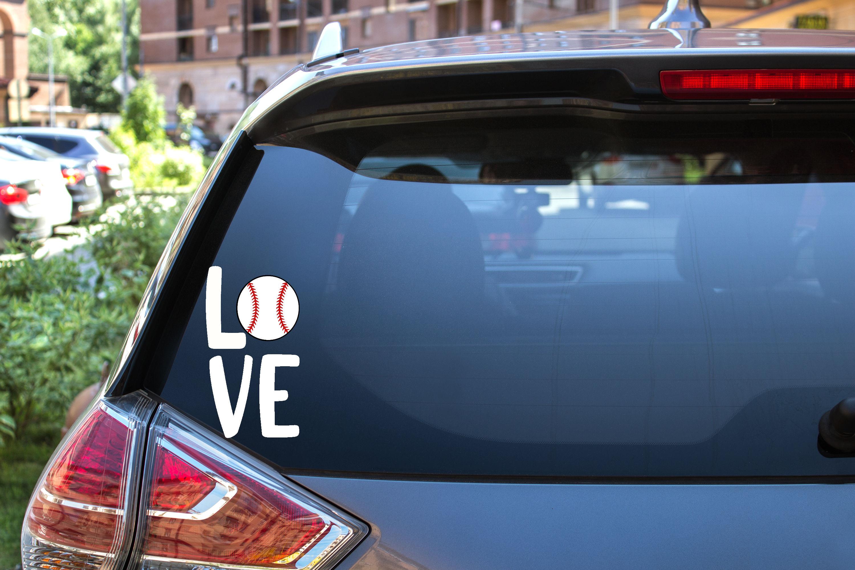 Baseball SVG File - Love with baseball - square example image 3