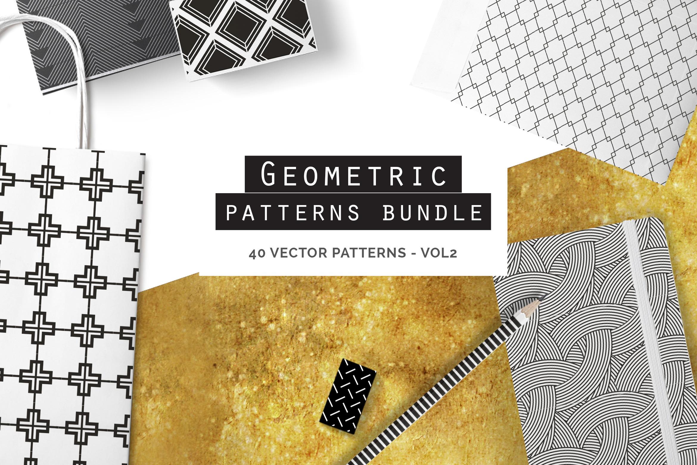 Geometric Patterns Bundle - vol2 example image 1