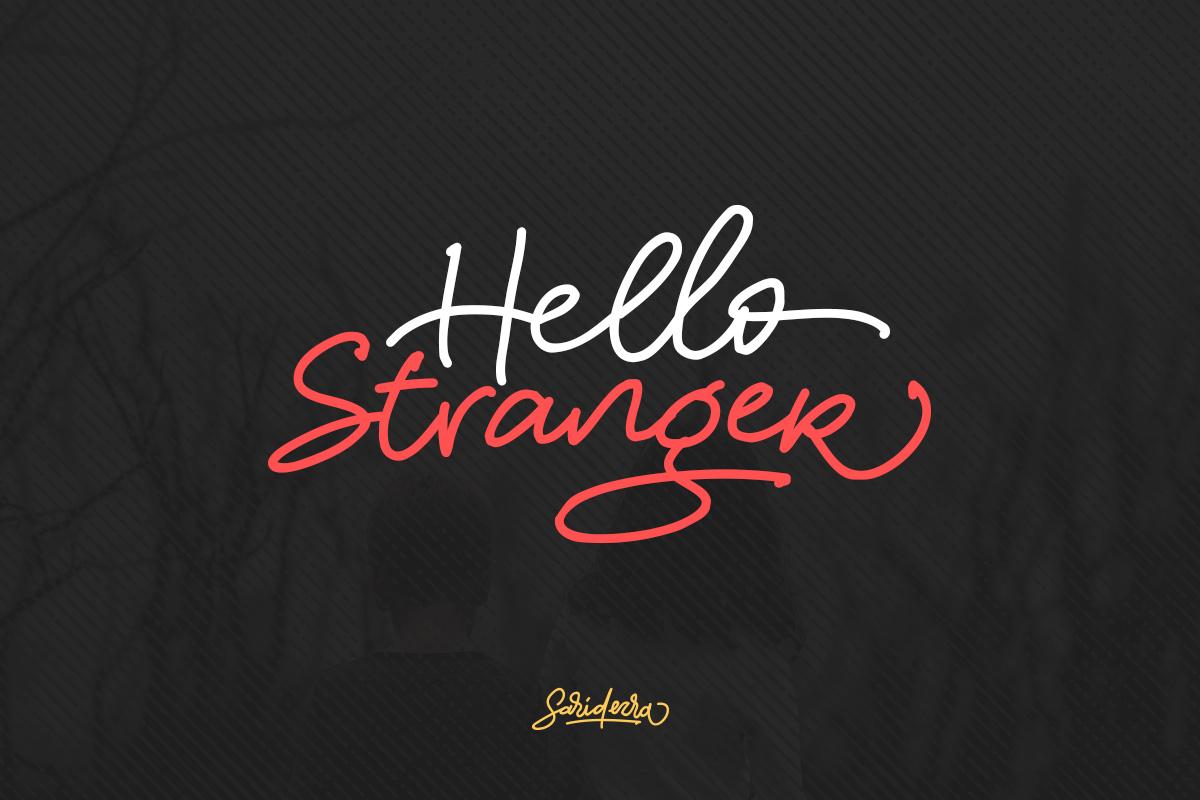 Hello Stranger example image 1