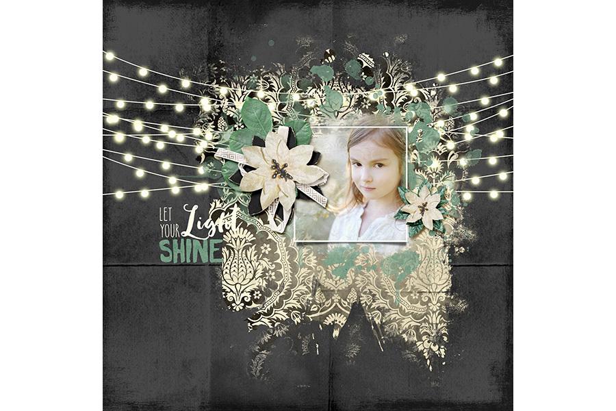 String Lights Clip-Art + Bonus example image 2