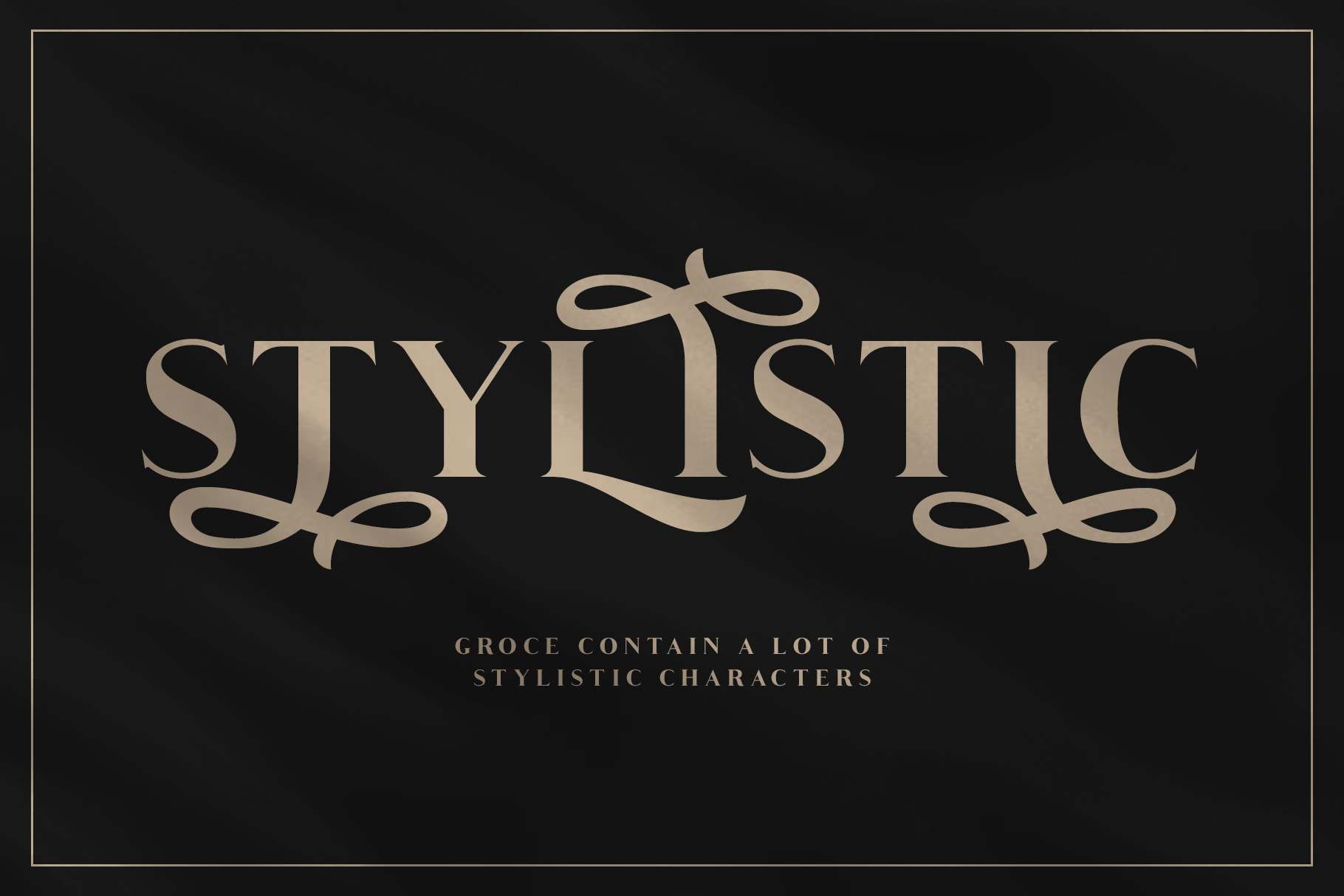 Groce - Stylistic Serif Font example image 6