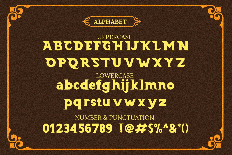 Barong Font and Bonus example image 4