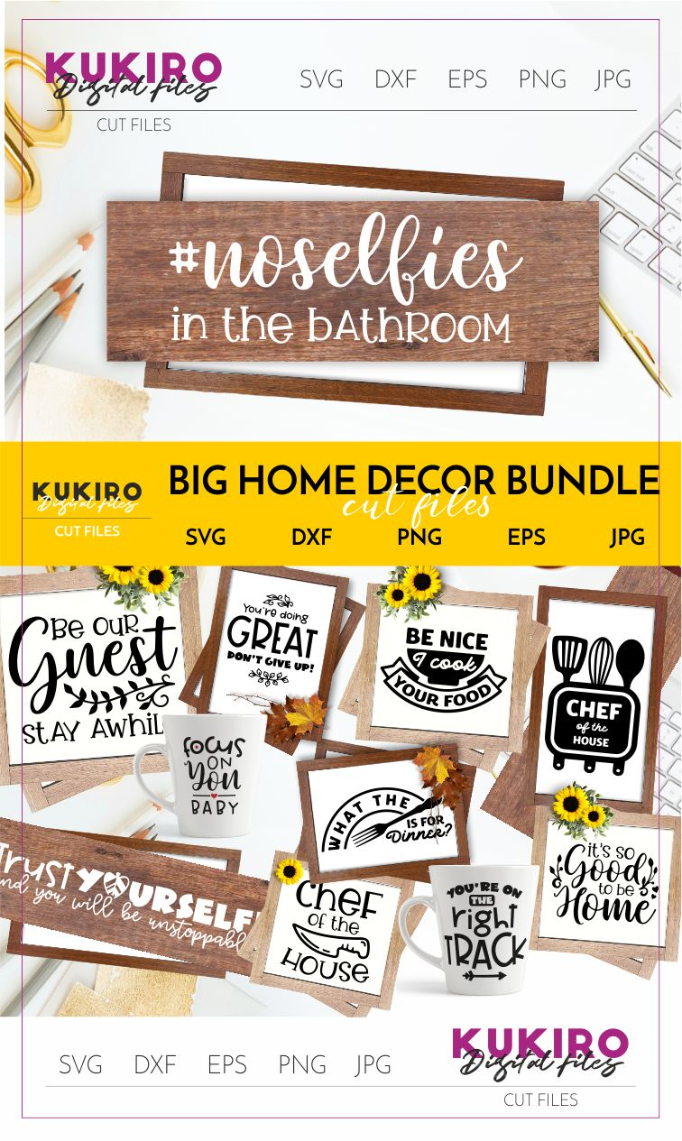 BIG HOME DECOR BUNDLE - Home, Office and funny Kitchen signs example image 29