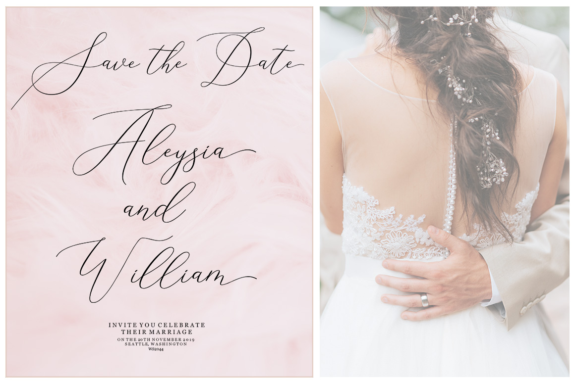 Elise Dafisa - Elegant Script Font example image 6