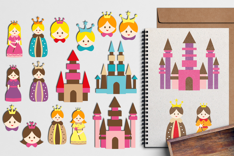 Just For Girls Clip Art Illustrations Huge Bundle example image 24