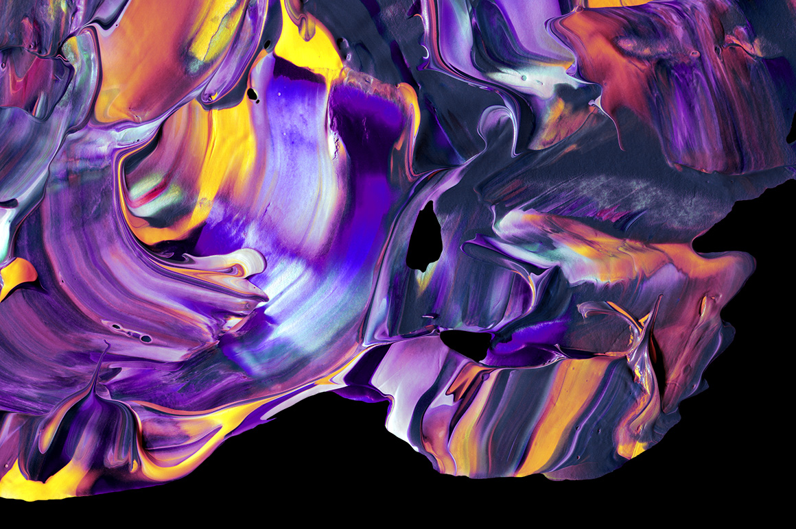 Abstract Paint Shapes example image 3
