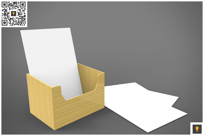 Flyer Holder 3D Render example image 7