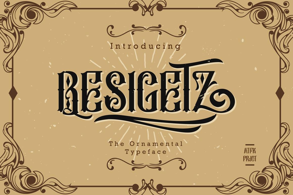 Besigetz Typeface example image 1