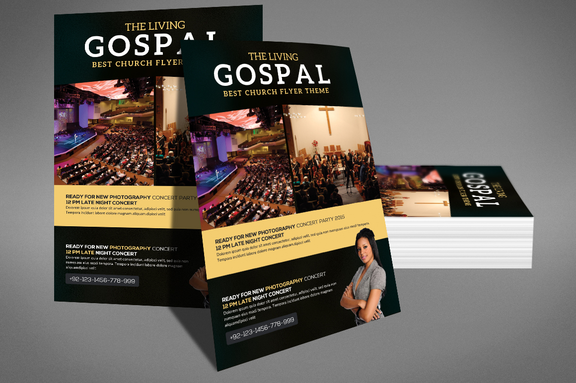 The Living Gospel Flyer example image 3