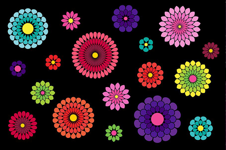 Flower Petal Brushes example image 3