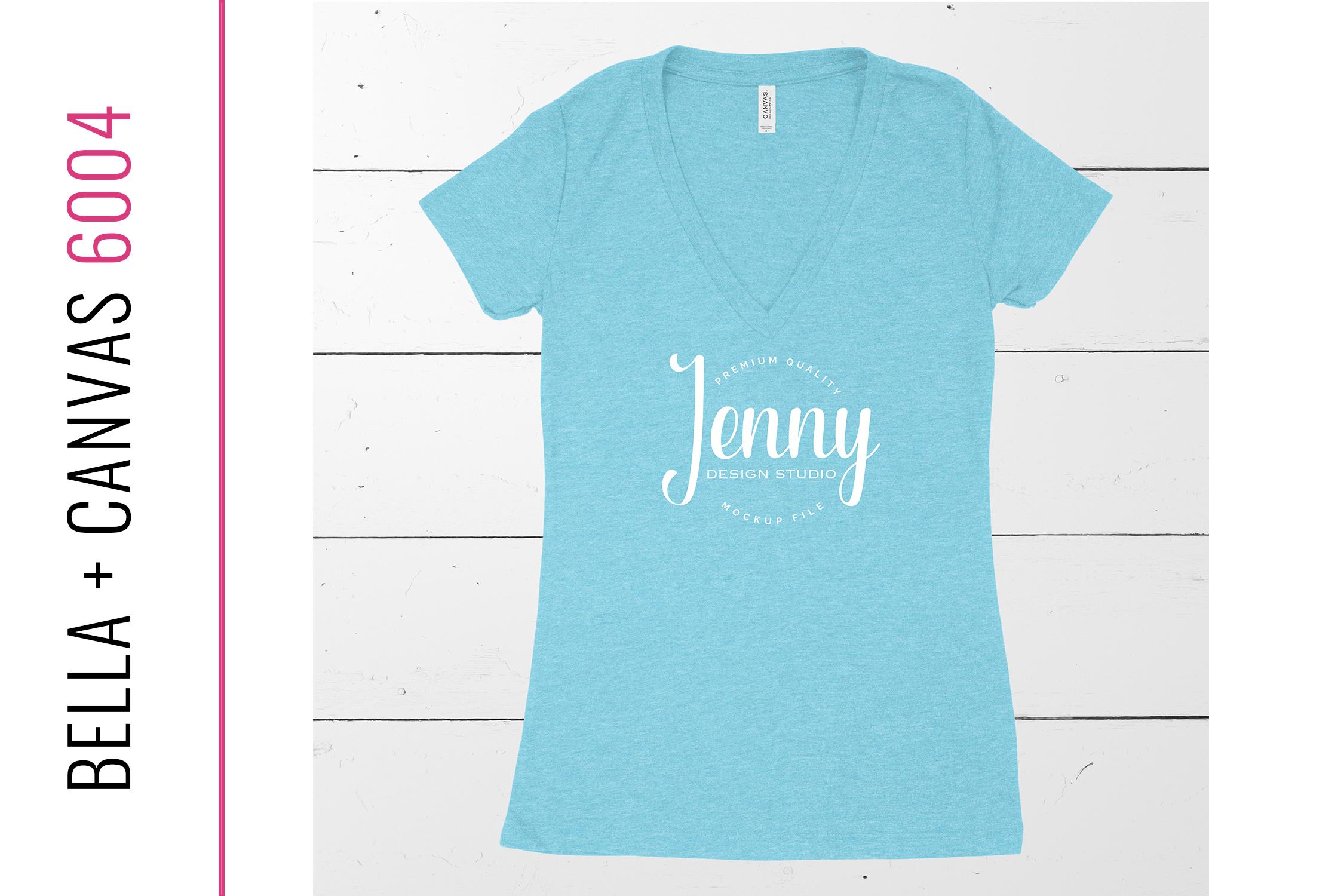 Bella Canvas 8435 Unisex Mockup Bundle, Womens T-Shirt example image 4