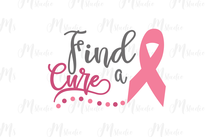 Cancer Awareness bundle SVG example image 17