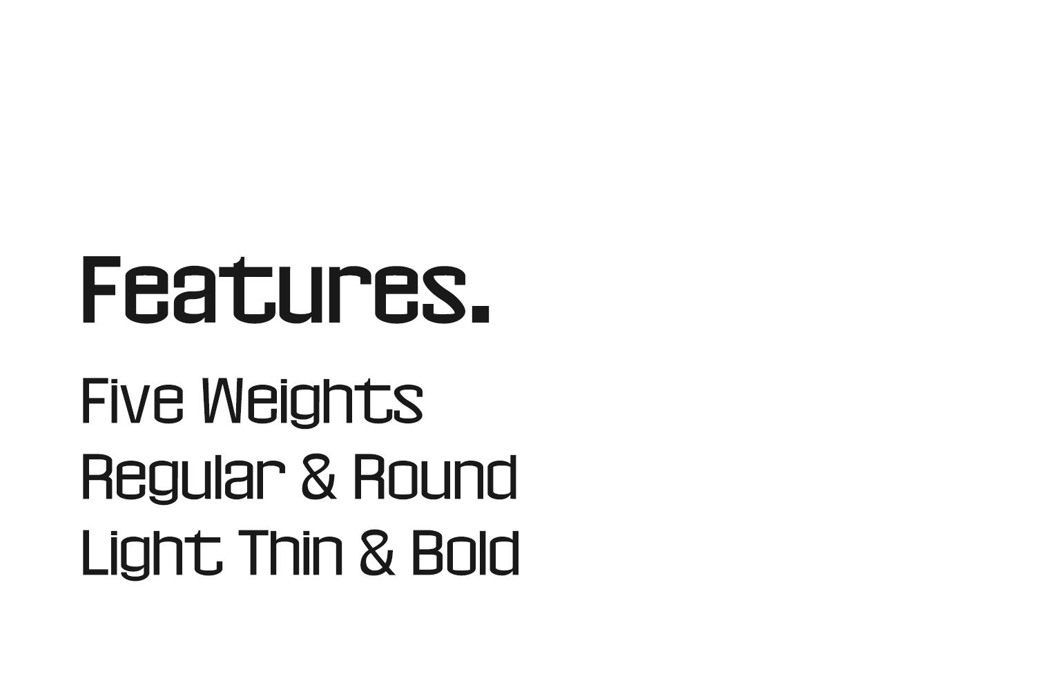 Geldwine Sans Serif Font Family example image 5