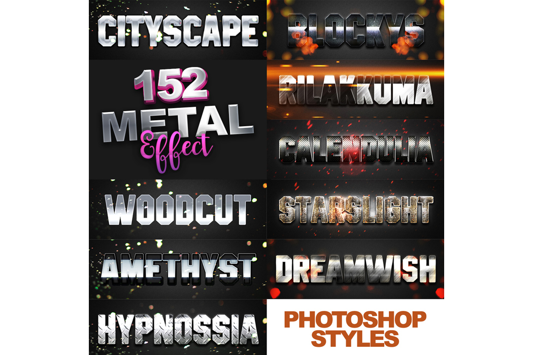 1600+ Mega Bundle Photoshop Styles example image 9
