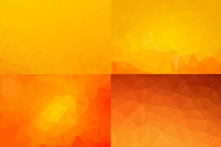 50 IN 1 LOW POLY BACKGROUND BUNDLE 5 COLOR VARIATIONS VECTOR example image 6
