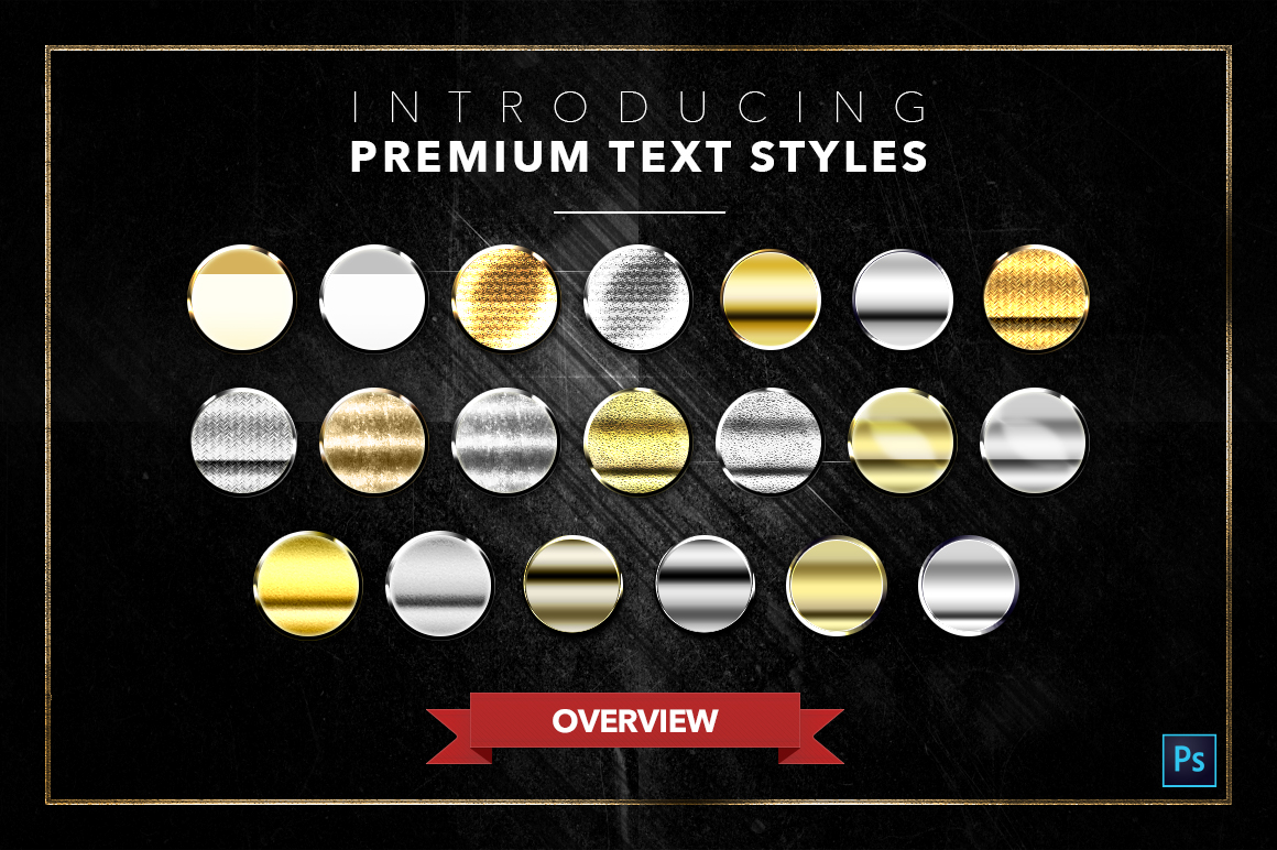 Gold & Silver #4 - 20 Text Styles example image 3