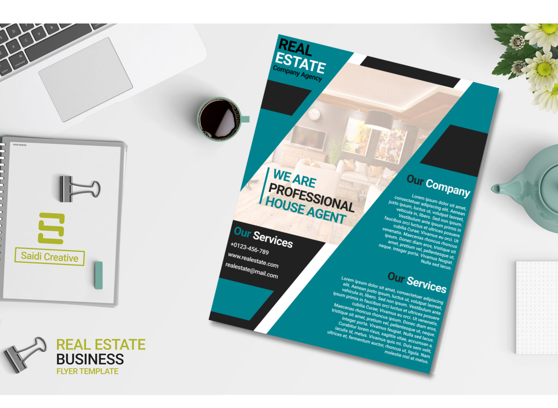 real estate business flyer template us flyer size
