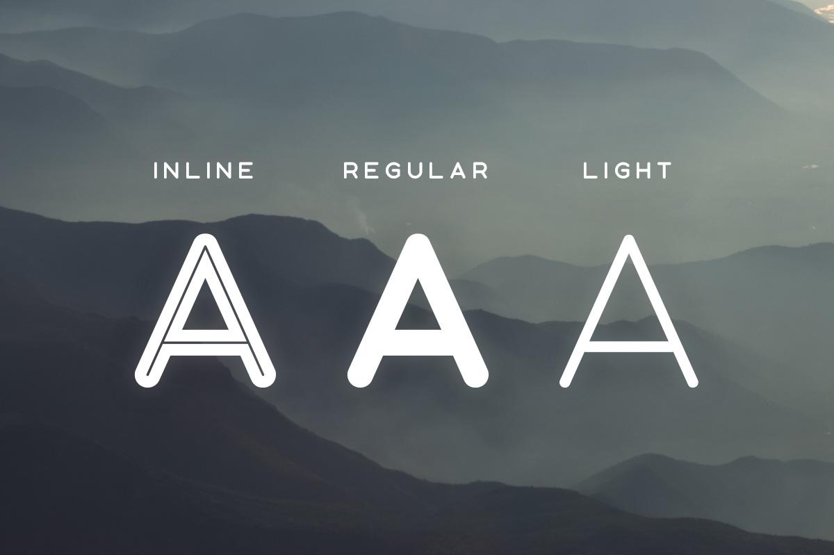 Aoki Typeface example image 3