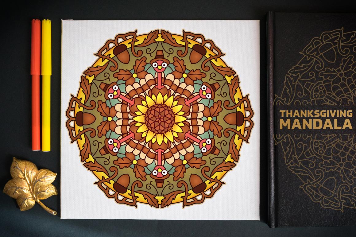 Seasonal and Holiday Mandalas example image 16