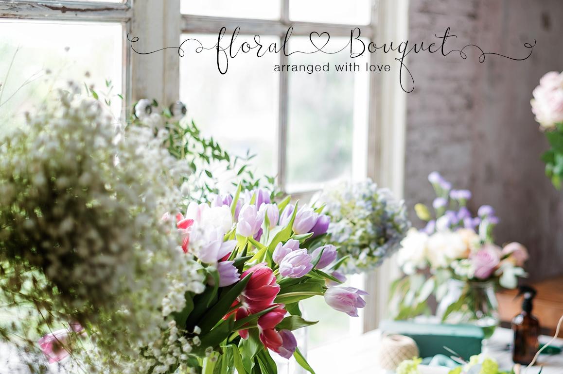 iHeart it wedding font example image 6