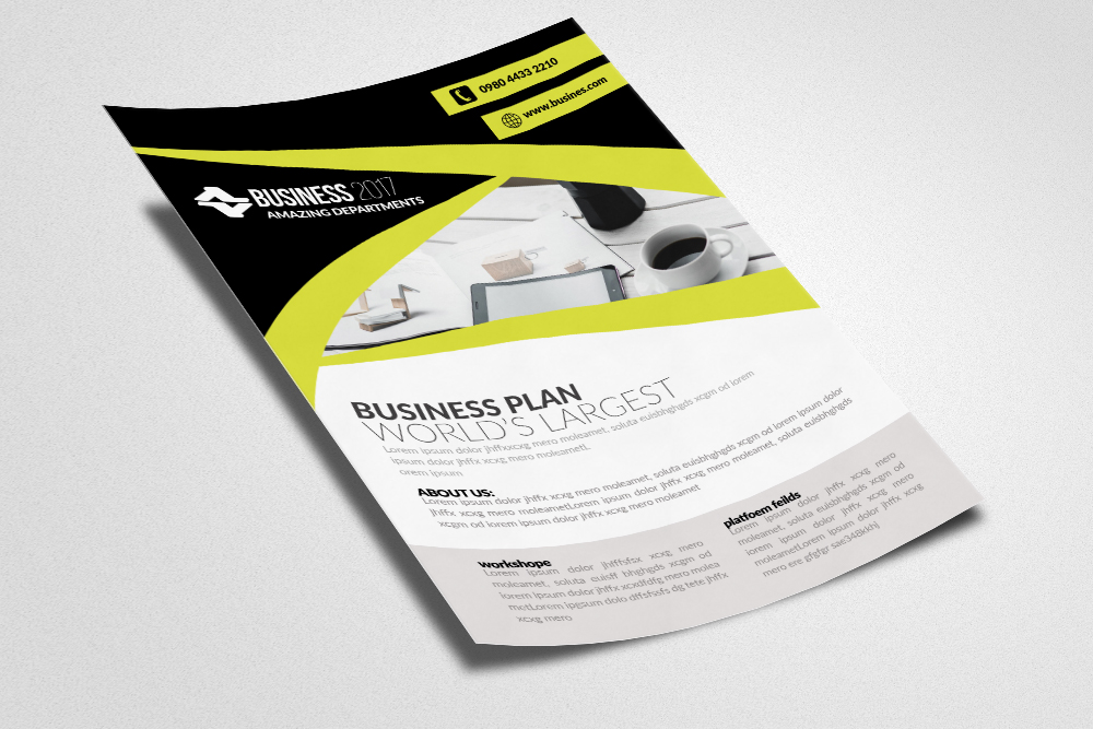 Architectural Firm Flyer Template example image 2