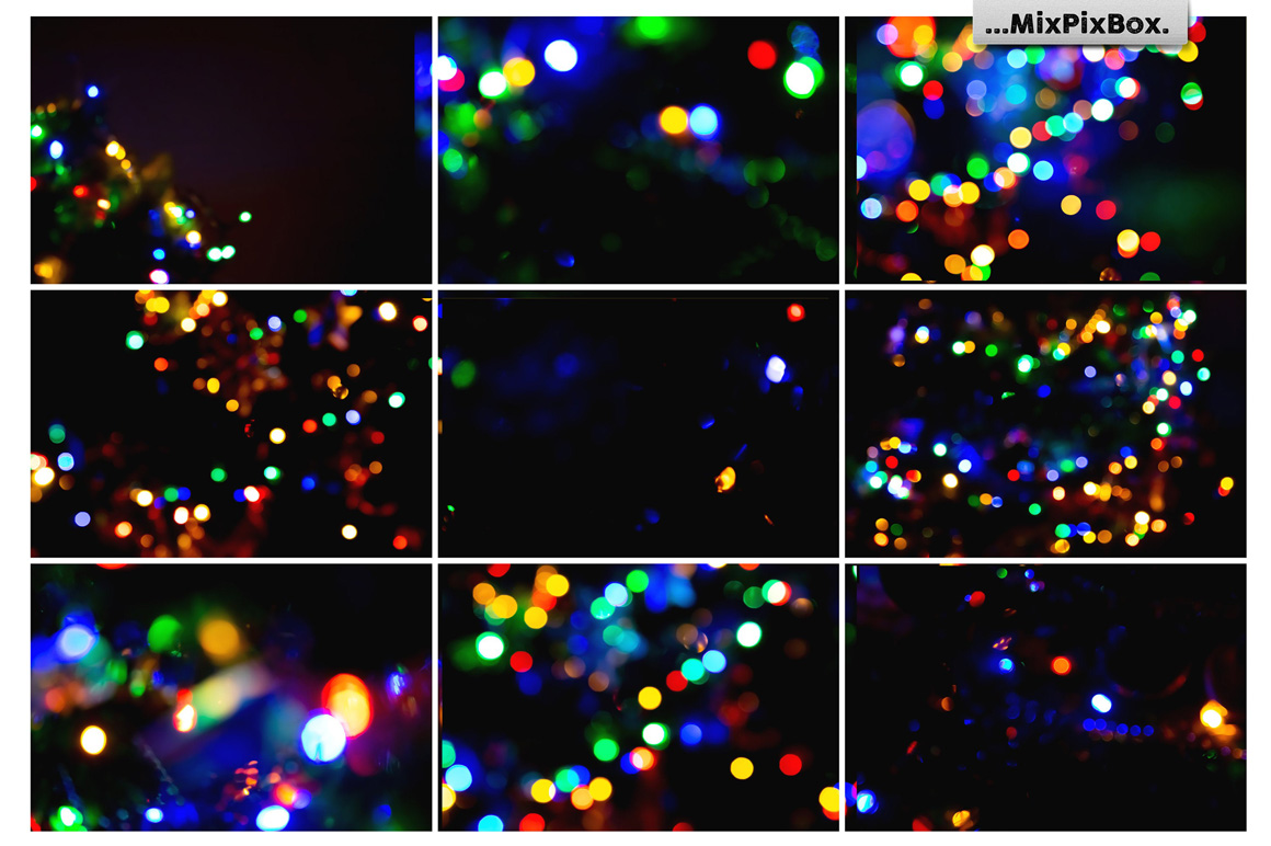 Colorful Bokeh Photo Overlays example image 7