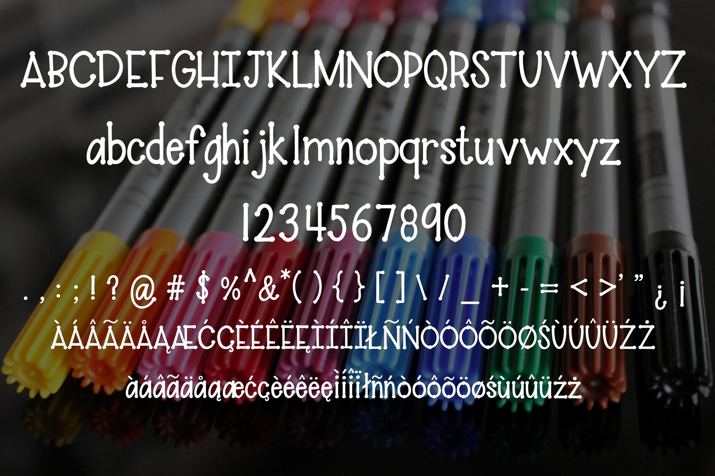 Paint Pen - A fun handwritten font example image 2