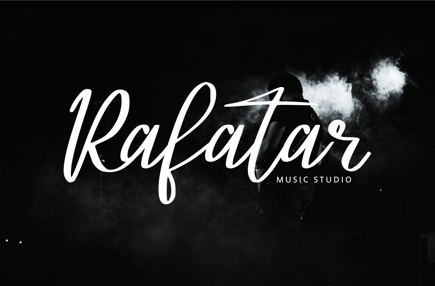 Atalintar | Natural Script Typeface example image 5