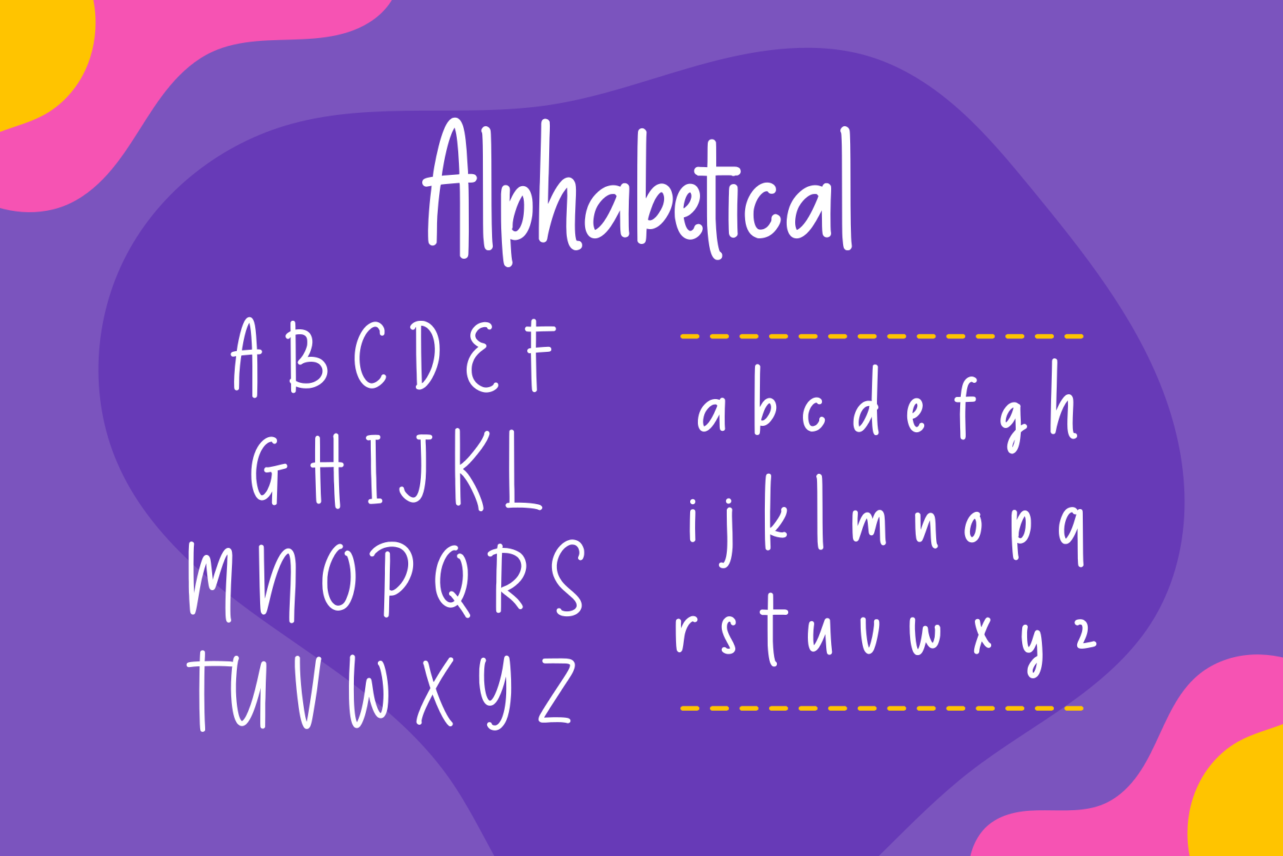 Thumbelina - Cute Layered Font example image 4