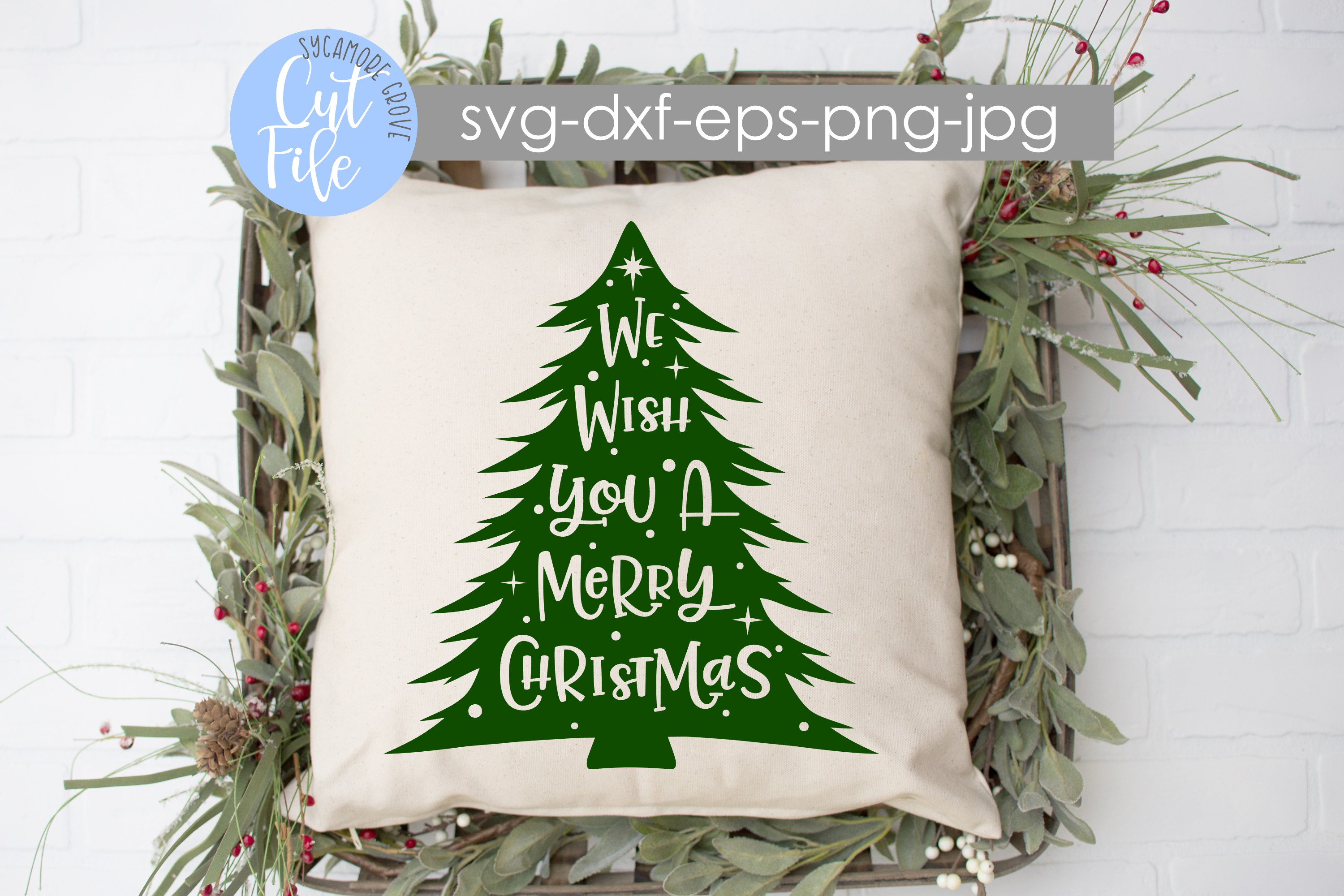 We Wish You A Merry Christmas SVG example image 4