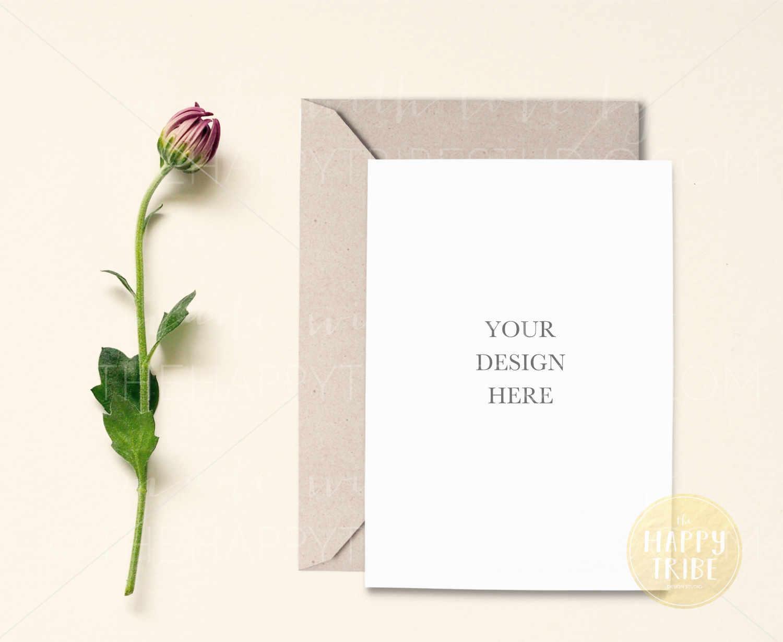 Card Mockup | Invitation Mockup | Wedding example image 2