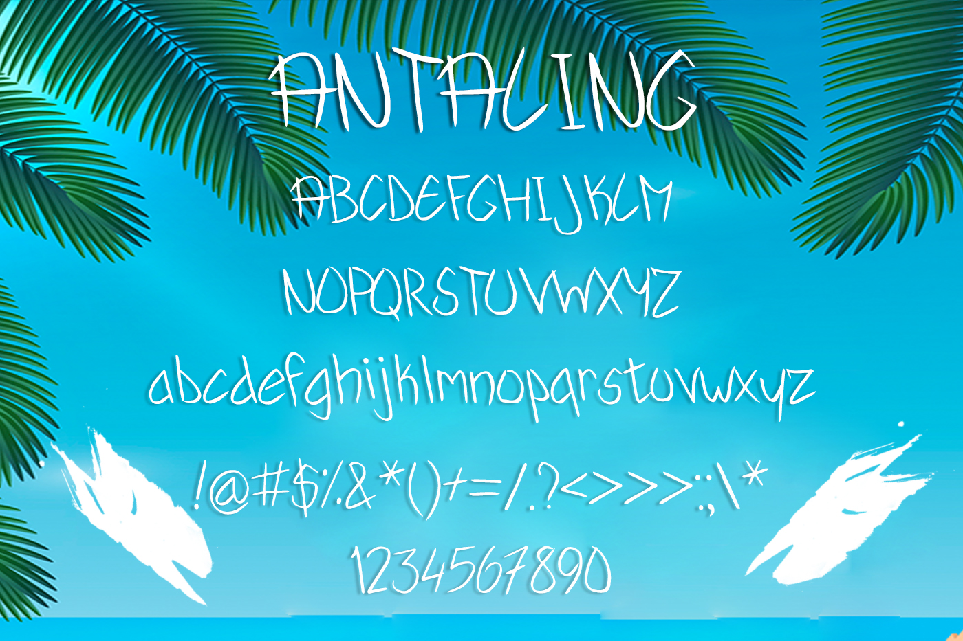 Antaling Summer Font example image 2
