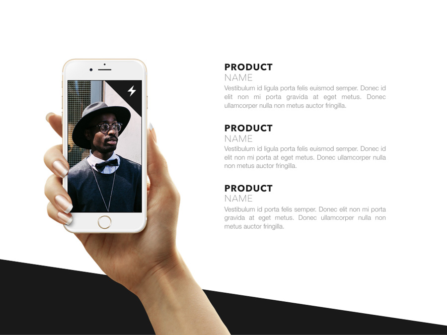 Fashion Edge PowerPoint Template example image 19