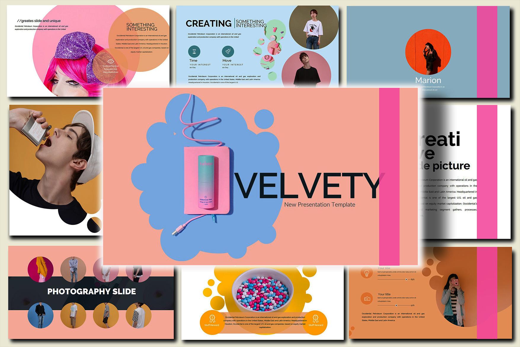 Velvety Fashion Google Slides Presentation example image 6