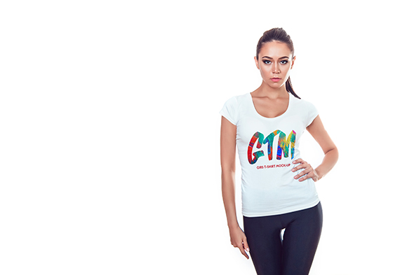 Women's T-shirts Mock-Up example image 16