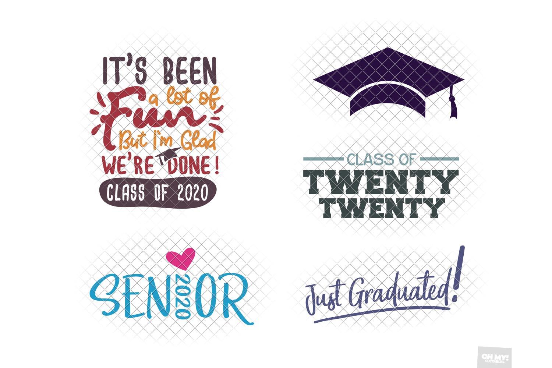 Graduation SVG Bundle example image 3