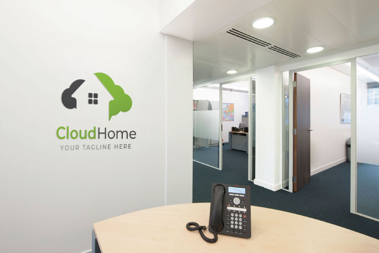 Cloud Home Logo example image 3