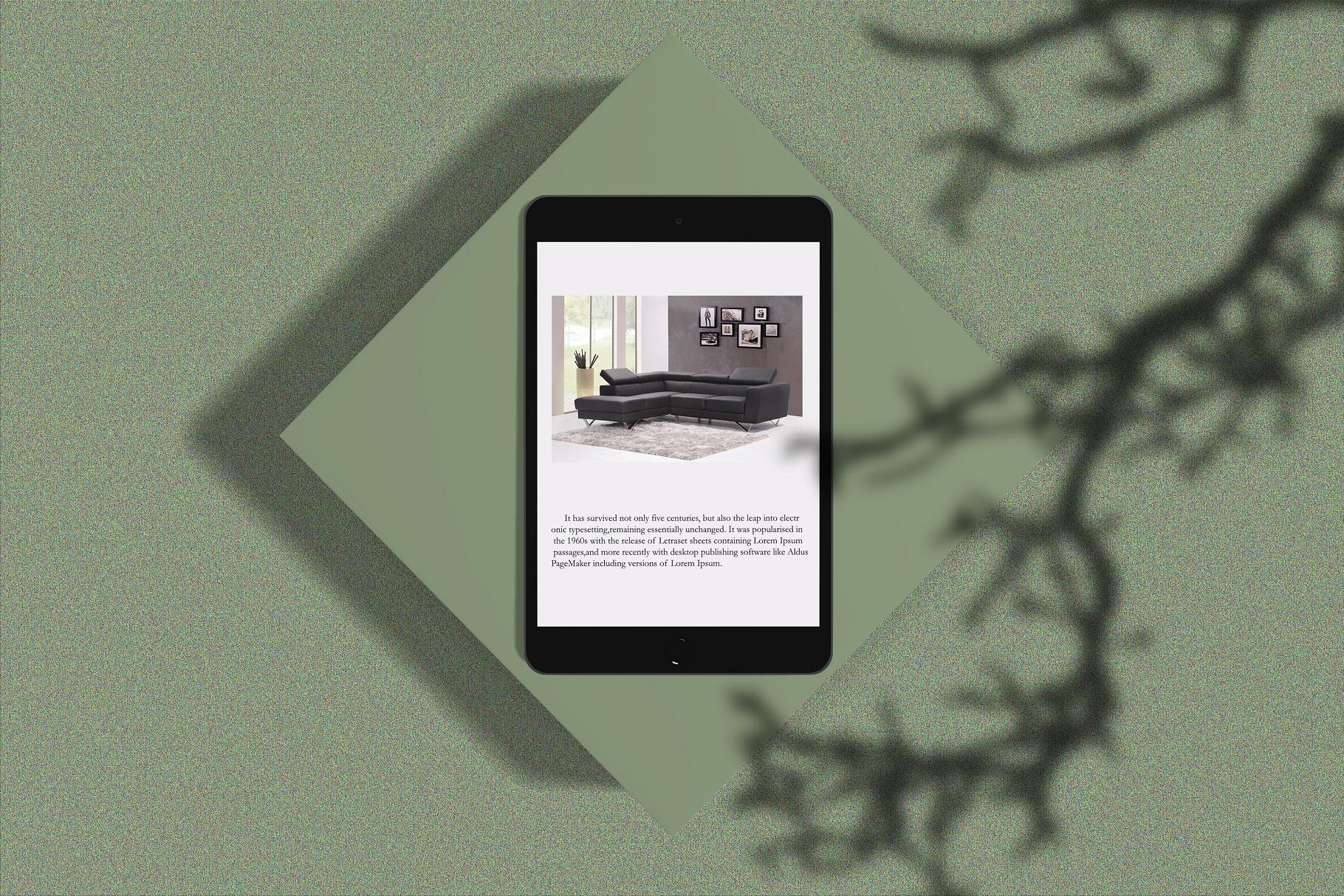 Minimal iPad Mockup example image 3