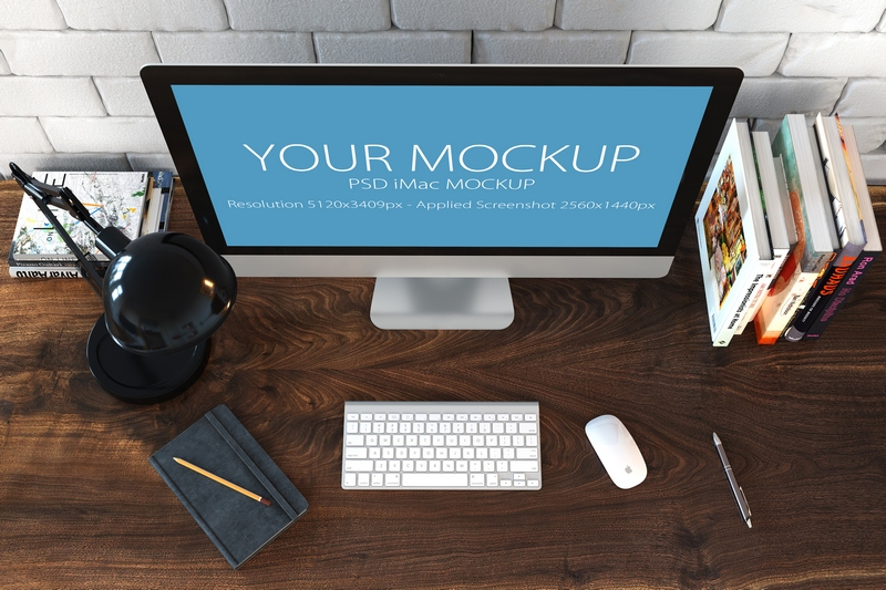 30 PSD Mock-ups Apple Devices example image 9