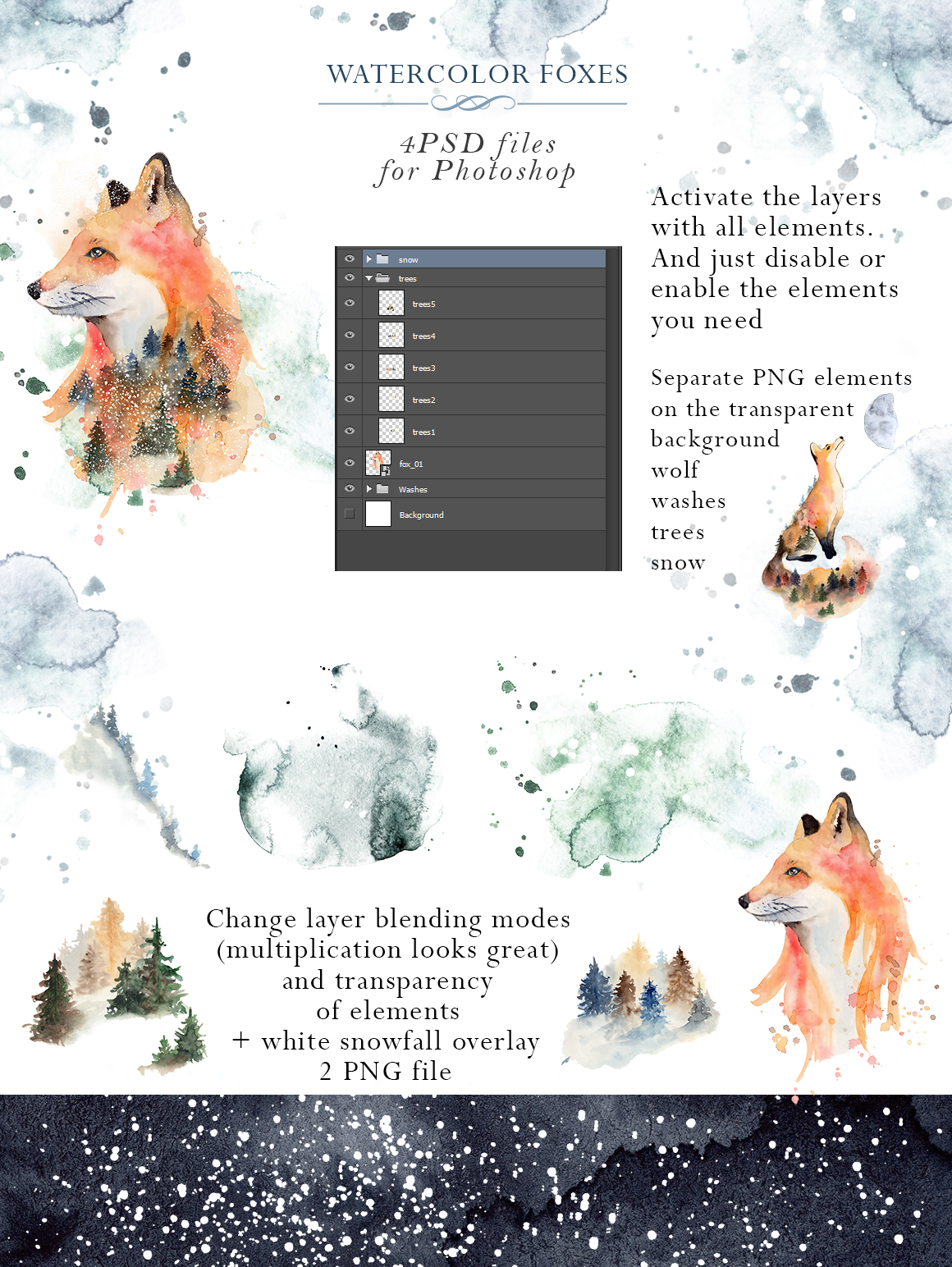 Woodland story Vol.2 Foxes example image 4