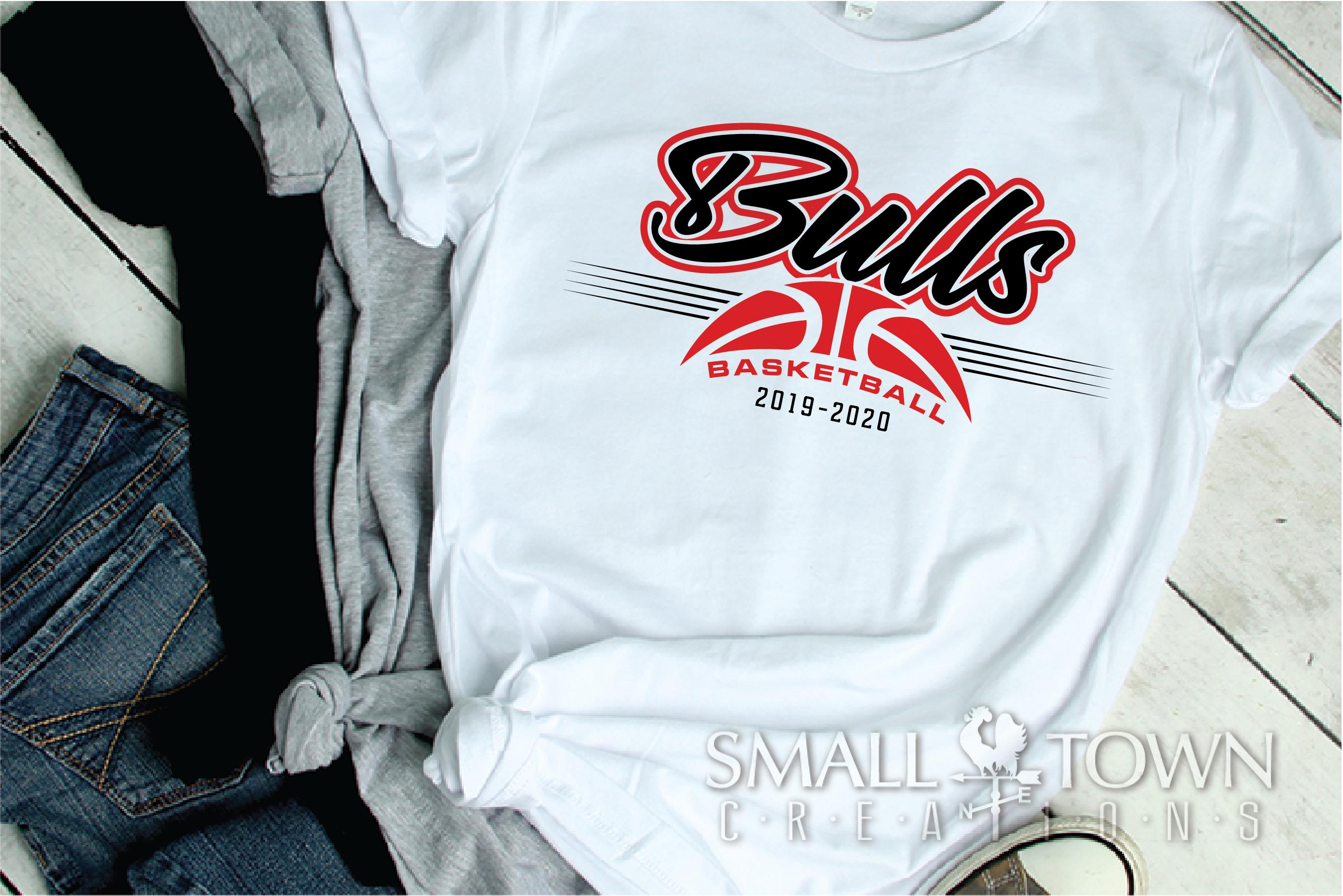 Bull, Bull Basketball, Sport, Design, PRINT, CUT, DESIGN example image 2