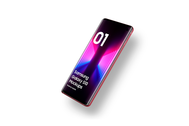 Samsung Galaxy S10 - 21 Mockups - 5K - PSD example image 25