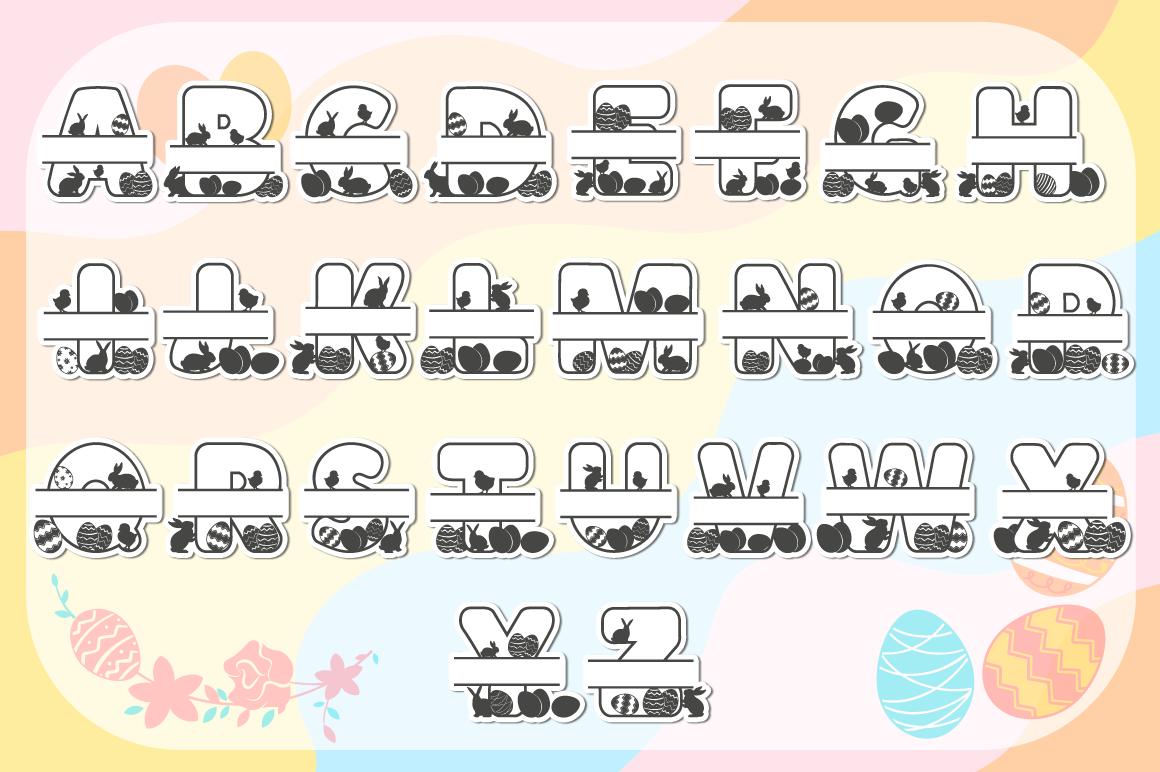 Easter SVG Mega Bundle - SVG Cut Files & Alphabets example image 7