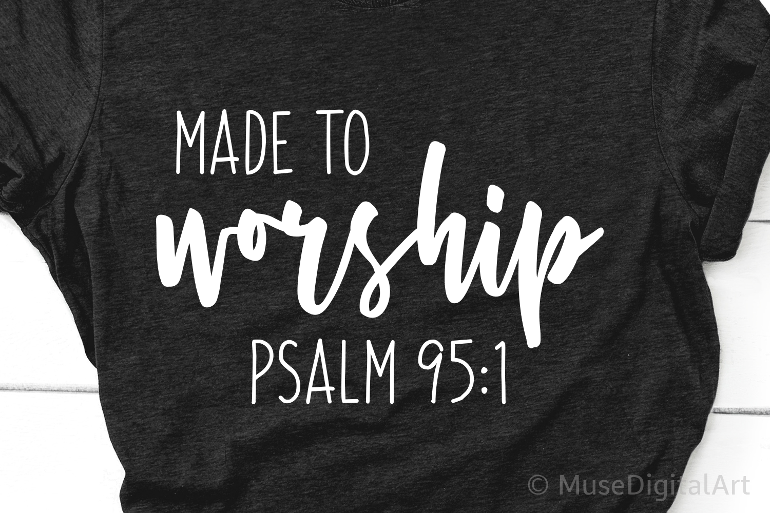 Made to Worship Svg, Bible Verse Svg, Scripture Svg Files example image 1