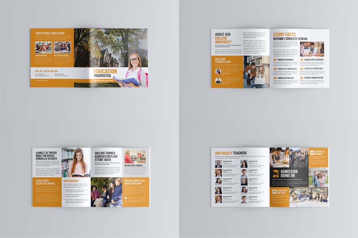 Education Prospectus Brochure Bundle example image 11