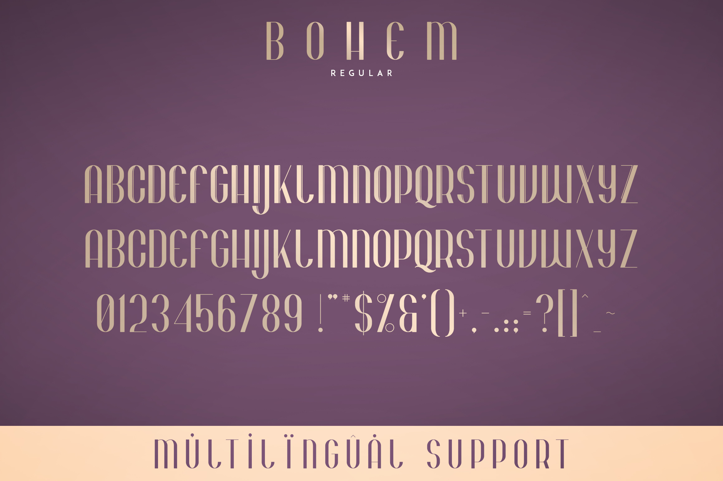 Bohem - Display font | 2 styles example image 7