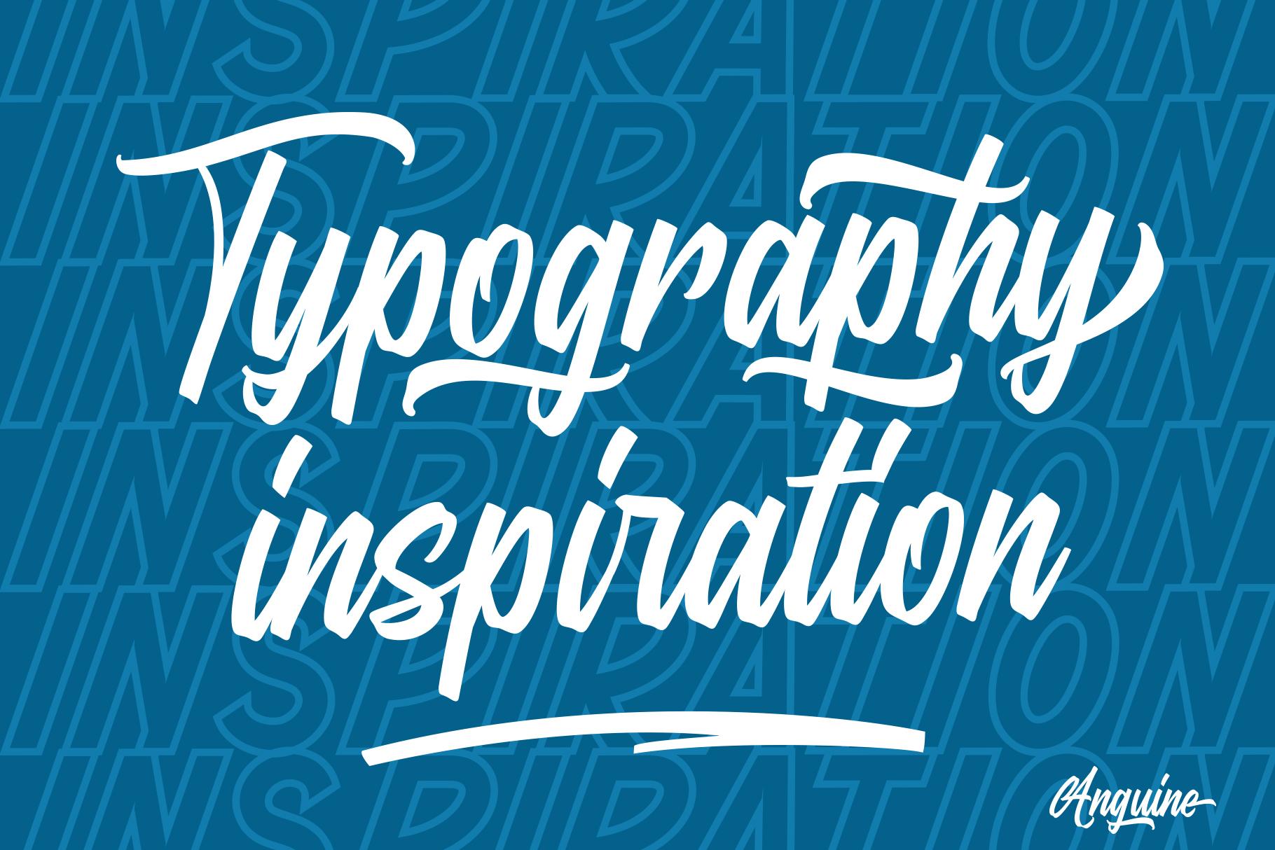 Anguine - Stylish Typeface example image 6
