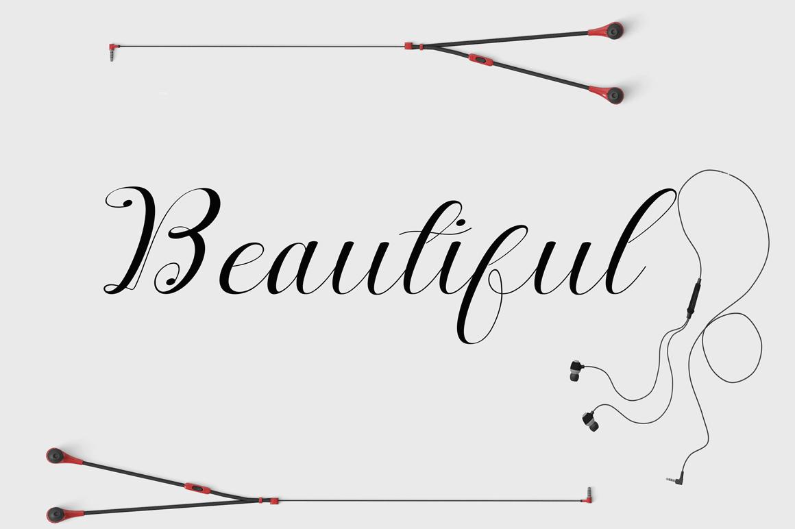 Nantiya font duo example image 8